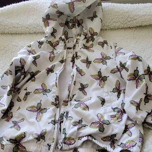 GAP Girls Size 3T rain/Windbreaker Jacket